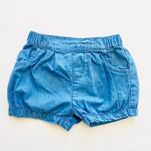 Other - Light Jean Bubble Shorts